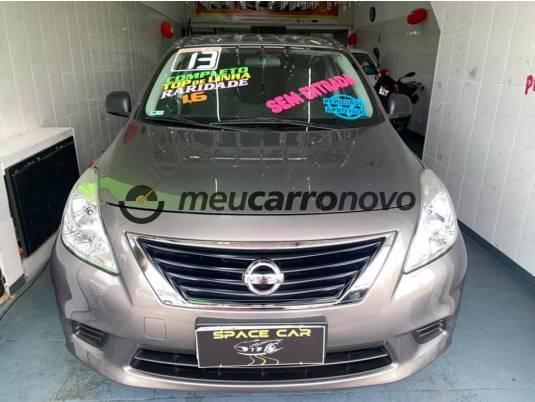 Nissan versa s 1.6 16v flex fuel 4p mec. 2013/2013