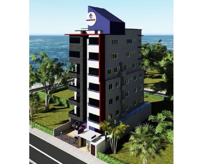 Apartamento cobertura duplex alto padrão, bela vista p mar