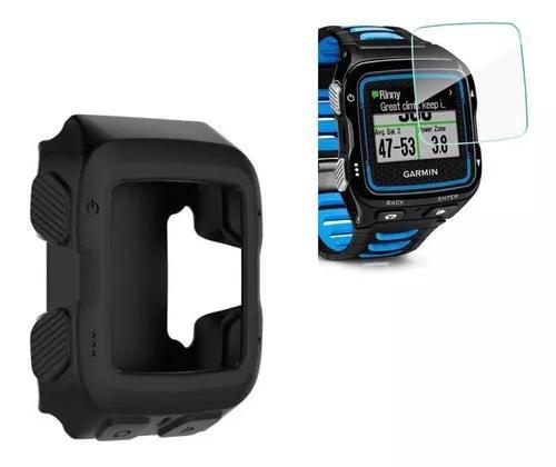 Capa silicone relógio garmin forerunner 920xt + película