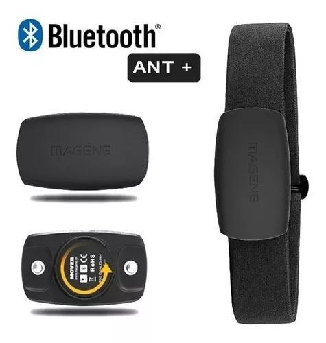 Cinta monitor cardíaco hrm magene mover bluetooth ant+ para