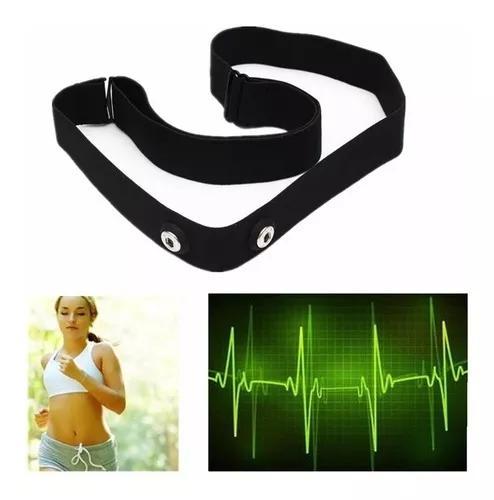 Cinta tira fita elástica para monitor cardíaco polar