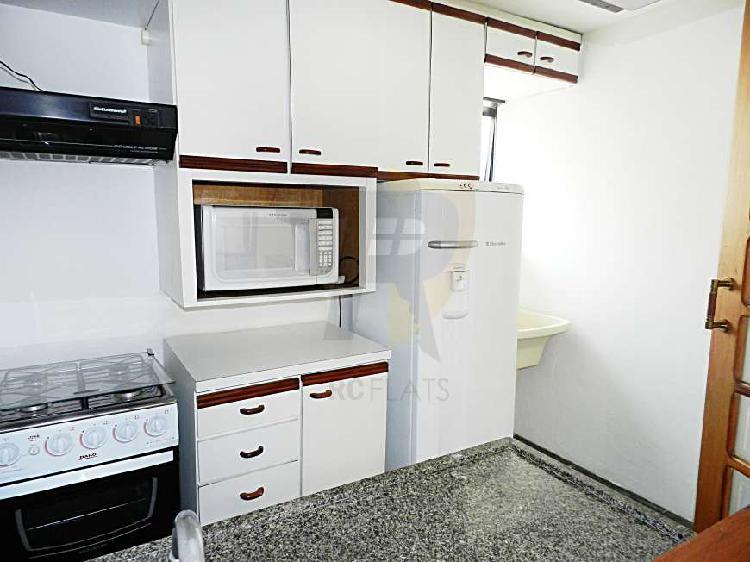 Flat com 2 quartos à venda, 55 m² por r$ 650.000 cod. rcv