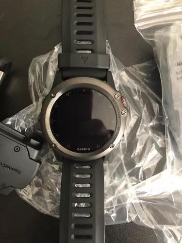 Garmin fenix 3 gps grafite novo (com cinta)