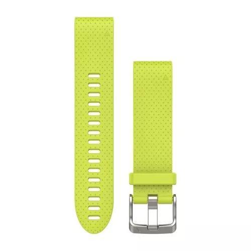 Garmin pulseira silicone amarela fenix 5s 010-12491-13