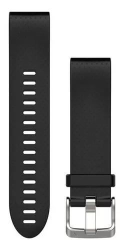 Garmin pulseira silicone preta para fenix 5s 010-12491-12
