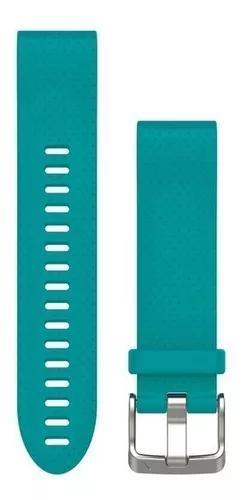 Garmin pulseira silicone turquesa para fenix 5s 010-12491-11