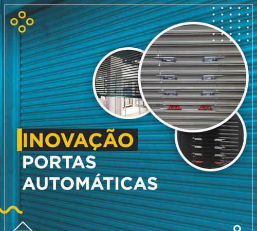 Inovação serviços de portas automáticas