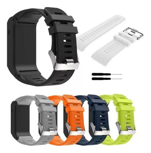 Kit 3x pulseiras garmin vivoactive hr - top pronta entrega