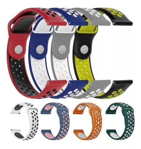 Kit 3x pulseiras p/ garmin vivoactive 3 - diversas cores
