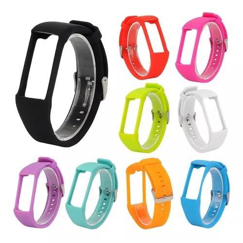 Kit 3x pulseiras p/ polar a360 ou a370 - várias cores top