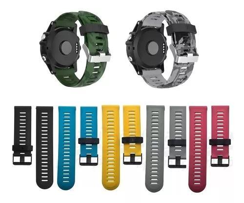 Kit 4x pulseiras p/ garmin fenix3 / fenix3 hr / fenix 5x