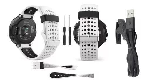 Kit carregador + pulseira silicone forerunner 230 235