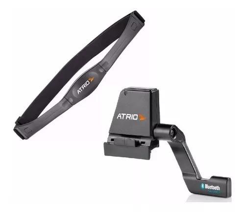 Kit monitor cardiaco + kit sensor velocidade bluetooth atrio