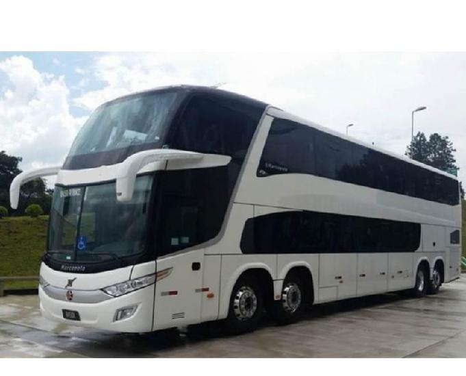 Onibus marcopolo new g7 paradiso 1800 doble deck 2019
