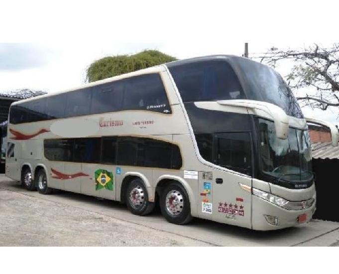 Onibus dd - 1800 4-eixos volvo b-450r cód.6058 ano 2012