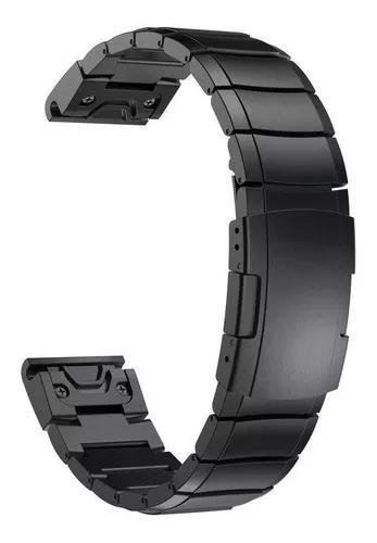 Pulseira fenix 5s 5s plus relógio garmin aço inox metal