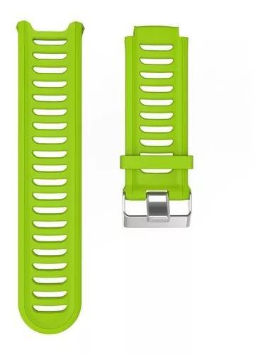 Pulseira garmin forerunner 910xt verde lima linda!! top!!