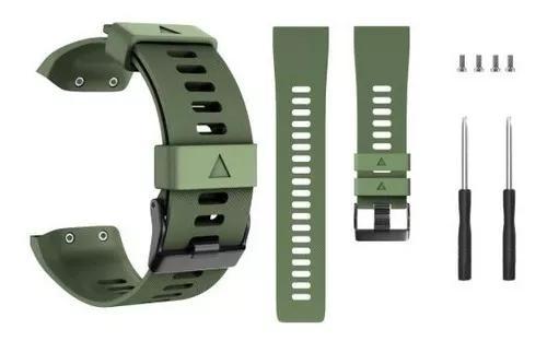 Pulseira para relógio forerunner 35 - verde escuro