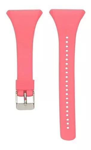 Pulseira rosa similar para relógio polar ft4 ft7