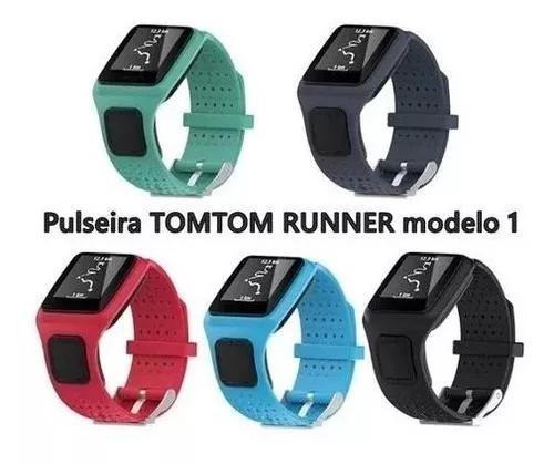 Pulseira runner 1 tomtom relógio tom tom cardio multi gps
