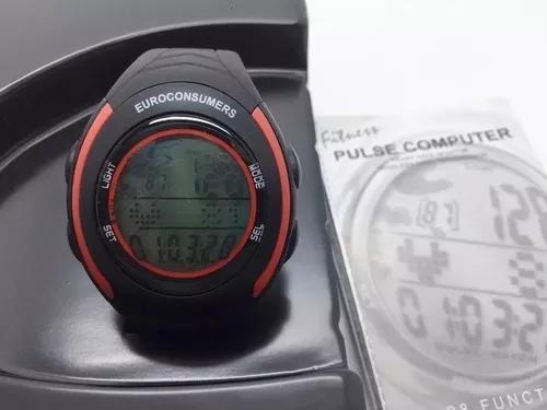 Relógio de pulso caloria monitor cardíaco c/ faixa
