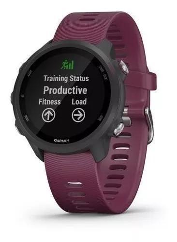 Relógio garmin forerunner 245 gps roxo lançamento 2019