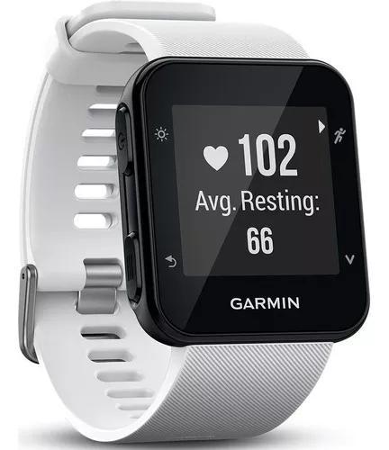 Relógio gps garmin forerunner 35 branco smartwatch