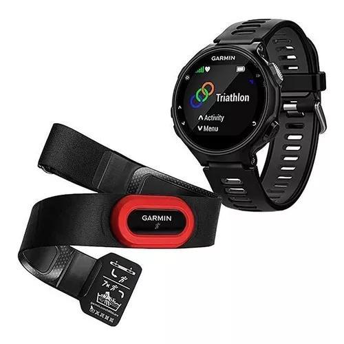 Relógio gps monitor cardíaco garmin forerunner 735xt +