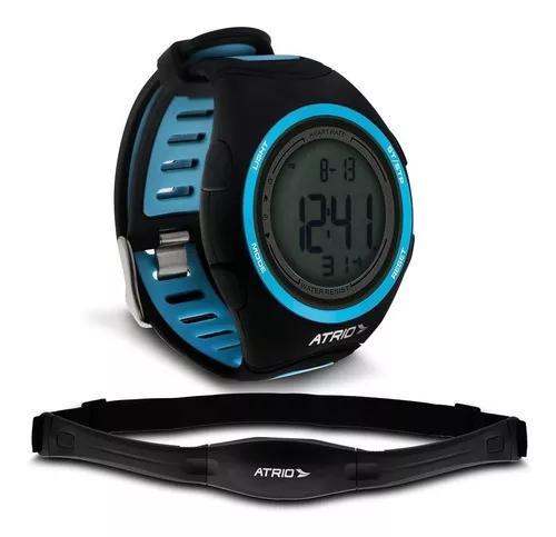 Relógio heart rate atrio citius es050 com monitor cardíaco