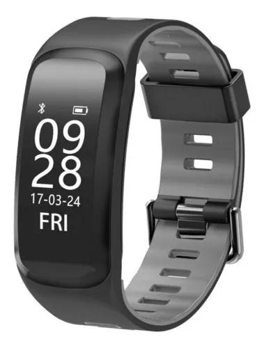 Relógio inteligente smart sport band f4 - gps, freq