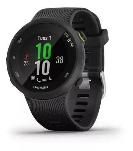 Relógio monitor cardíaco gps garmin forerunner 45