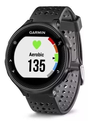 Relógio monitor cardiaco garmin forerunner 235 hr preto