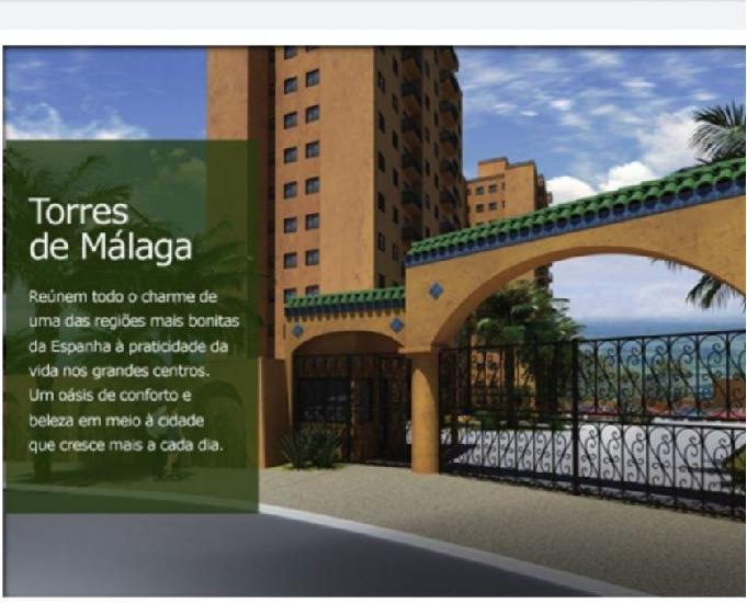 Torres de málaga residencial- 54m² alto da boa vista