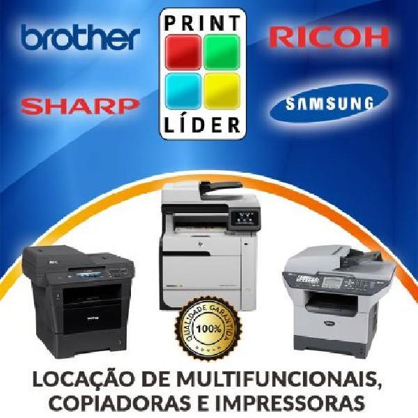 Aluguel, locação de impressora