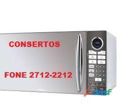 conserto de microondas no tremembé fone 2712 2212