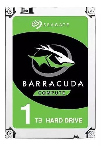 Hd 1tb seagate sata 1tera barracuda 7200rpm 3.5'' p/ pc dvr
