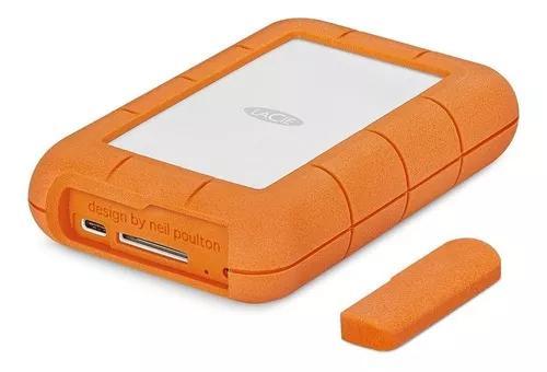 Hd portátil lacie 4tb rugged raid pro usb-c stgw4000800