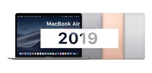 Macbook air 13 i5 8gb 128ssd 2018 novo retina lacrado nf