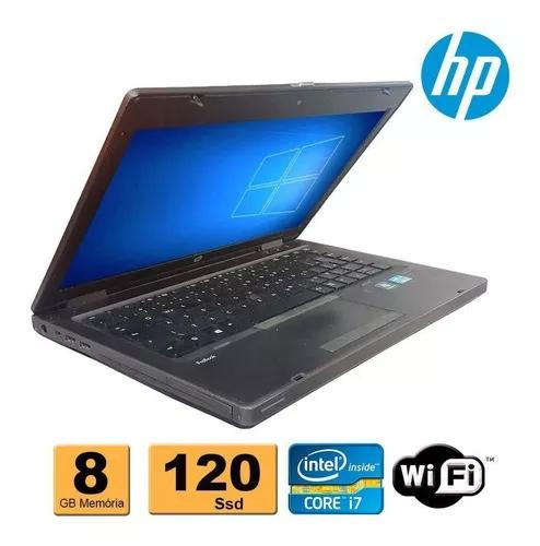 Notebook hp probook 6470b i7 8gb ssd 120gb recertificado