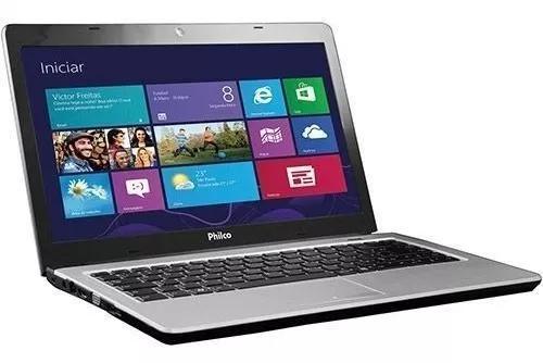 Notebook philco amd c-60 apu 4gb - hd 320gb bateria bad