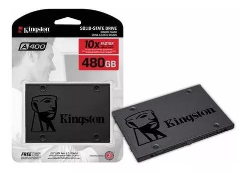 Ssd kingston a400 480gb - 500mb/s