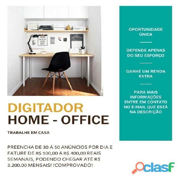 Trabalho em casa home office