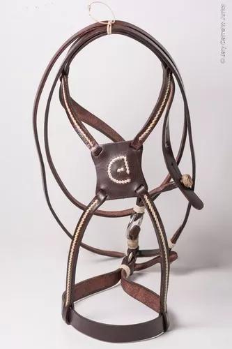 Cabresto buçal cavalo crioulo original selaria cabanha