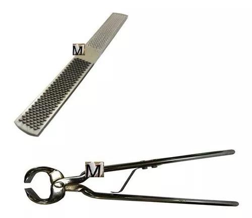 Kit para ferrador casqueamento grosa + torquesa torques