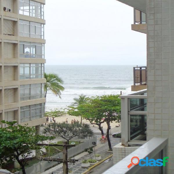 3 dormitórios Pitangueiras, Reformado, com vista para o Mar 1