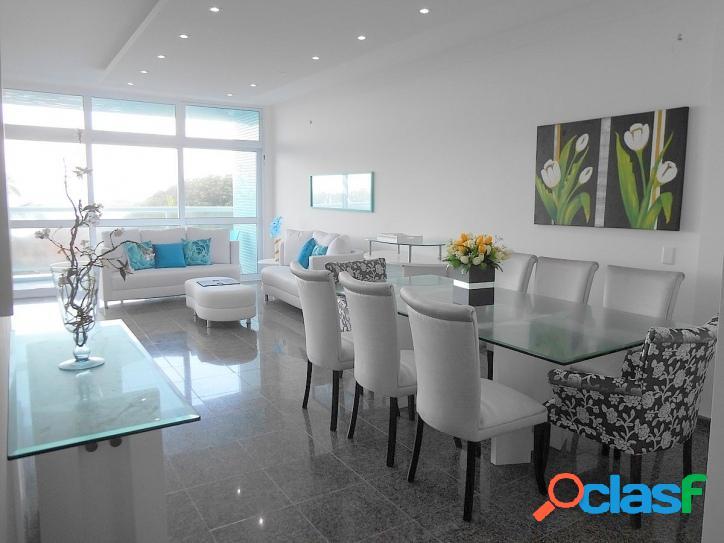 4 suites, reformado! frente ao mar pitangueiras guarujá