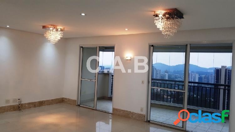 Apartamento lindo no edif. mont blanc alphaville