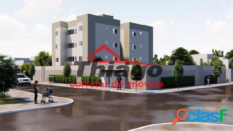 Apartamento com 2 dorms em uberlândia - jardim ipanema por 131 mil à venda