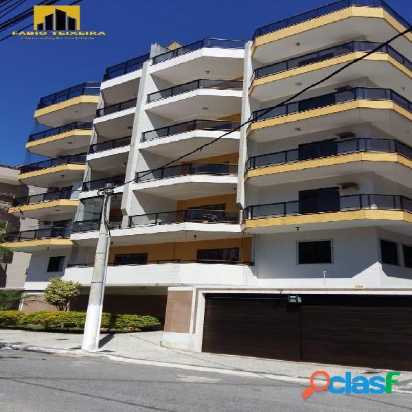 Apartamento com 2 dormitórios à venda, 133 m² por r$ 530.000 - braga - cabo frio/rj
