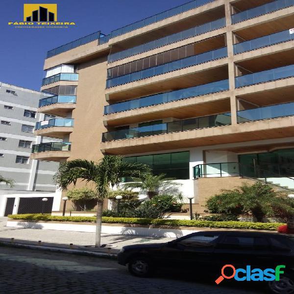 Apartamento com 3 dormitórios à venda, 135 m² por r$ 1.250.000 - braga - cabo frio/rj